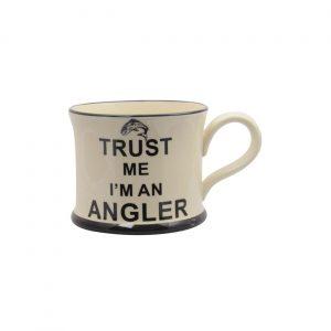 Moorland Pottery Mug Trust Me I'm An Angler