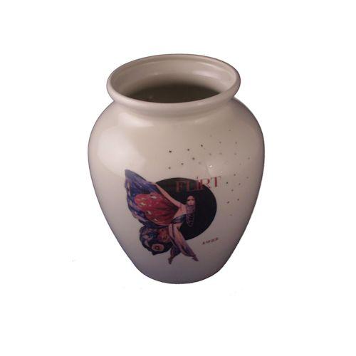 Carlton Ware Vase Flirt Butterfly Design Stoke Art Pottery