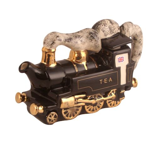 Locomotive Collectable Novelty Teapot Stoke Art Pottery