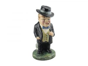 Winston Churchill Figure Bulldog Breed Design