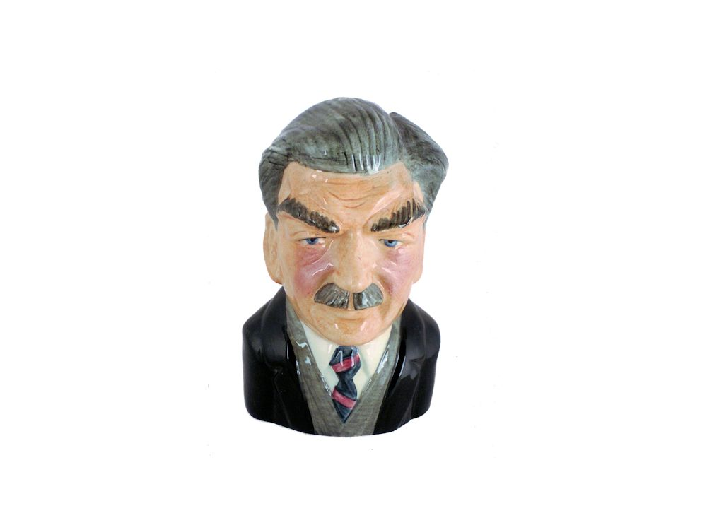 Anthony Eden Toby Jug By Bairstow Pottery Stoke Art Pottery