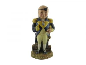 Bairstow Pottery Collectables Winston Churchill Figure First Sea Lord