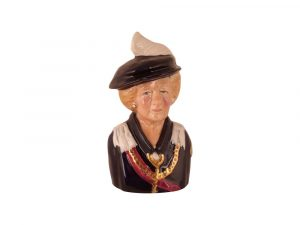 Margaret Thatcher Order of the Garter Toby Jug
