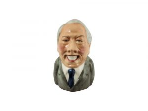 Edward Heath Toby Jug by Bairstow Pottery