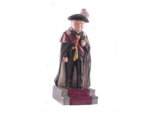 Bairstow Pottery Collectables Winston Churchill Figure Knight of the Garter