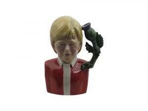 Nicola Sturgeon Toby Jug Red Jacket Colourway.