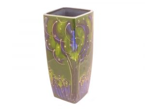 Anita Harris Art Pottery 25cm Vase Twilight Design