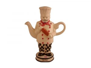 Chef Collectable Novelty Teapot