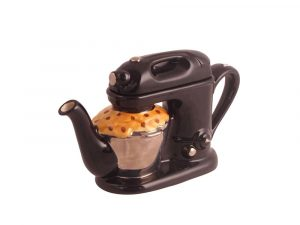 Food Mixer Collectable Novelty Teapot