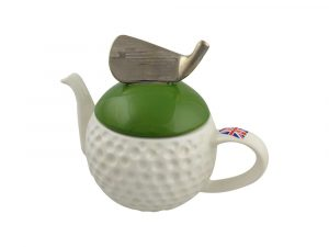 Golf Ball Collectable Novelty Teapot