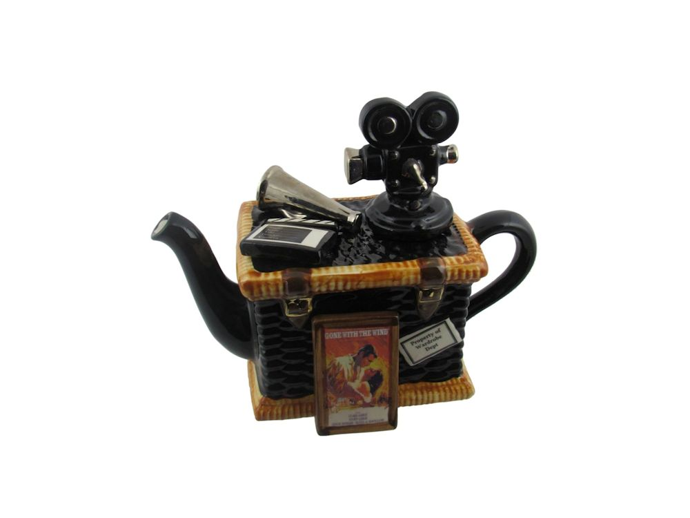 Movie Basket Collectable Novelty Teapot