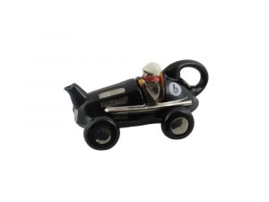 Racing Car Collectable Teapot Black Colour Way