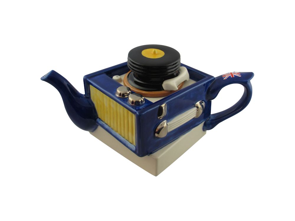 Record Player Collectable Novelty Teapot