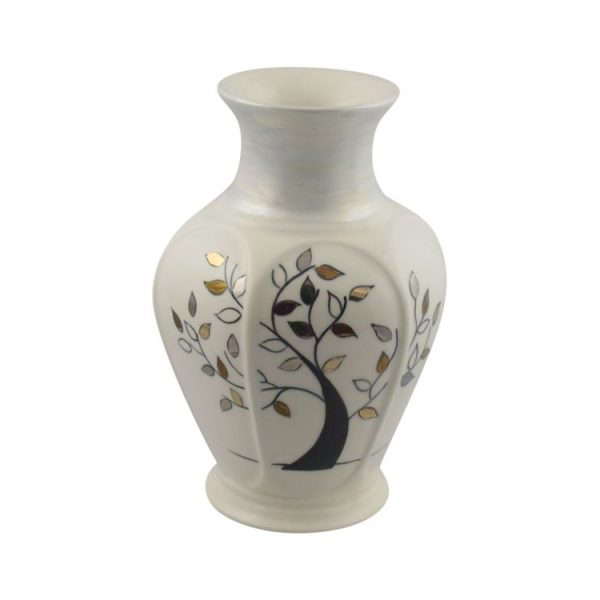 Carlton Ware Vase Wishing Tree Design Stoke Art Pottery