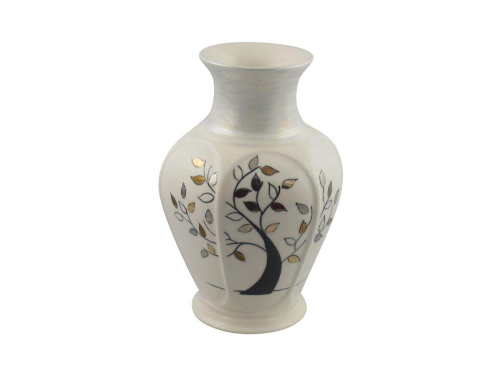 Carlton Ware Vase Wishing Tree Design Stoke Art Pottery