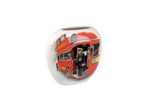 Tony Cartlidge Ceramic Vase The Bus Conductor Design.