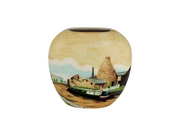 20cm Vase Cruising around the Potteries Design