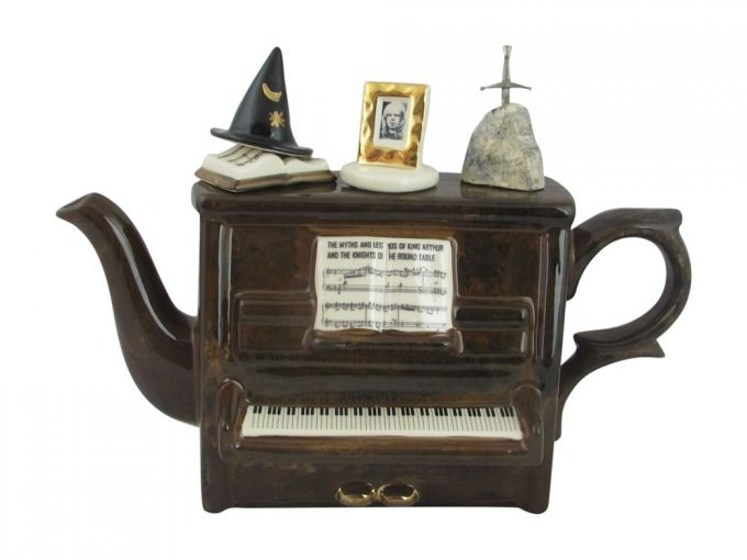 Rick Wakeman Piano Collectable Teapot Now Available.