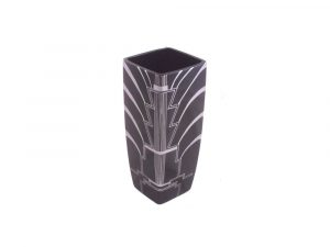 Large Square Vase Ritzy Design Lucy Goodwin Designs