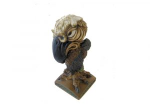 Judge Grotesque Bird Figure.