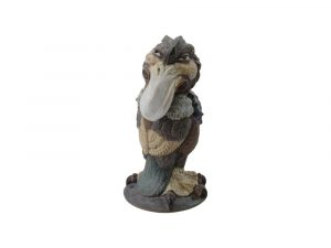 Burslem Pottery Grotesque Bird Boris the Gangster.