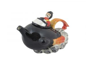 Rocket Ship Novelty Collectable Teapot