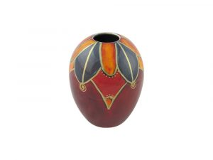 Anita Harris Art Pottery Vase Harlequin Design