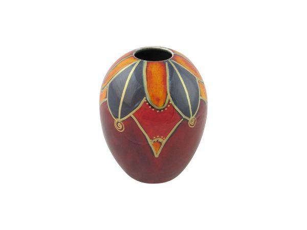 Anita Harris Art Pottery Vase Harlequin Design