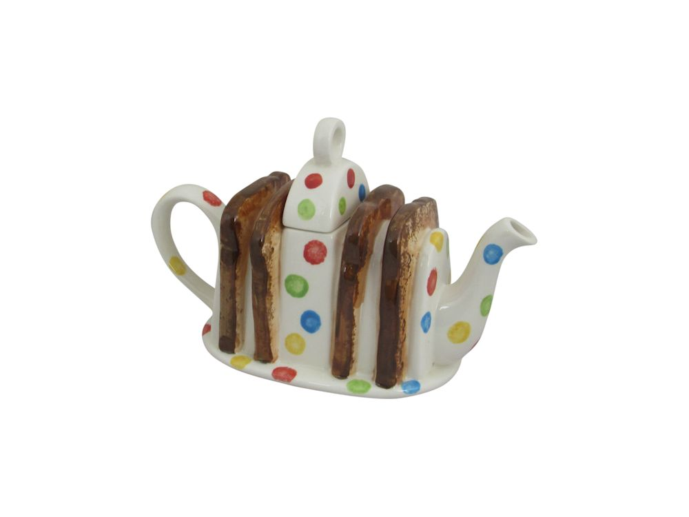 Toast Rack Collectable Teapot Carters Of Suffolk Stoke Art Pottery