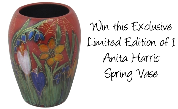 Great Easter Bunny Competition – Win this Exclusive One of a Kind Anita Harris Spring Vase