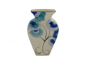 Emma Bailey Ceramics Vase Delft Flower Design