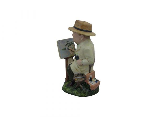 Winston Churchill Figure The Artist Bairstow Pottery