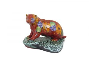 Badger Figure Garland Design Anita Harris Art Pottery