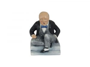 Winston Churchill Figure Man of the Century