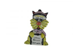 Lorna Bailey Art Ware Pottery Cat Bilbo