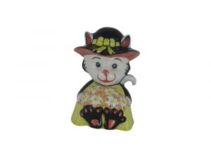 Lorna Bailey Art Ware Pottery Cat Bouquet