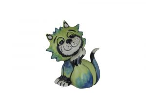 Lorna Bailey Art Ware Pottery Cat Itchy