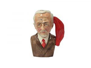Oh Jeremy Corbyn Toby Jug Brown Jacket