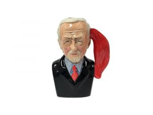 Oh Jeremy Corbyn Toby Jug Dark Blue Jacket Colour Way