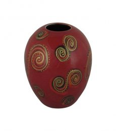 Fantasy Curves Design Vase Anita Harris Art Pottery