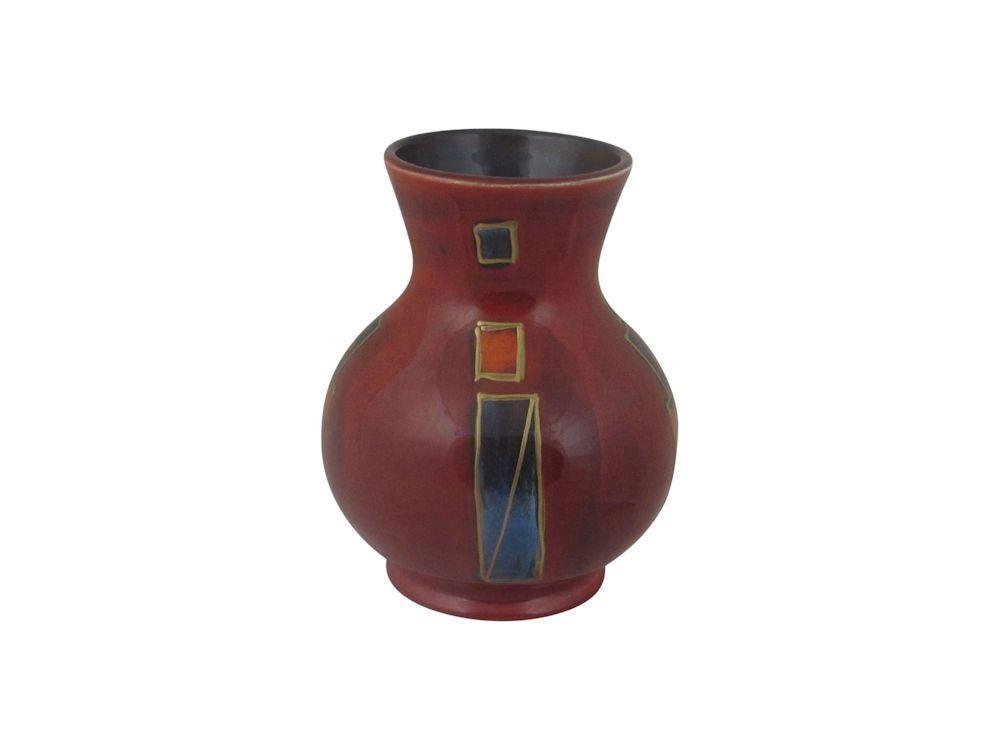 Trojan Vase Trial Design Xxv Anita Harris Art Pottery