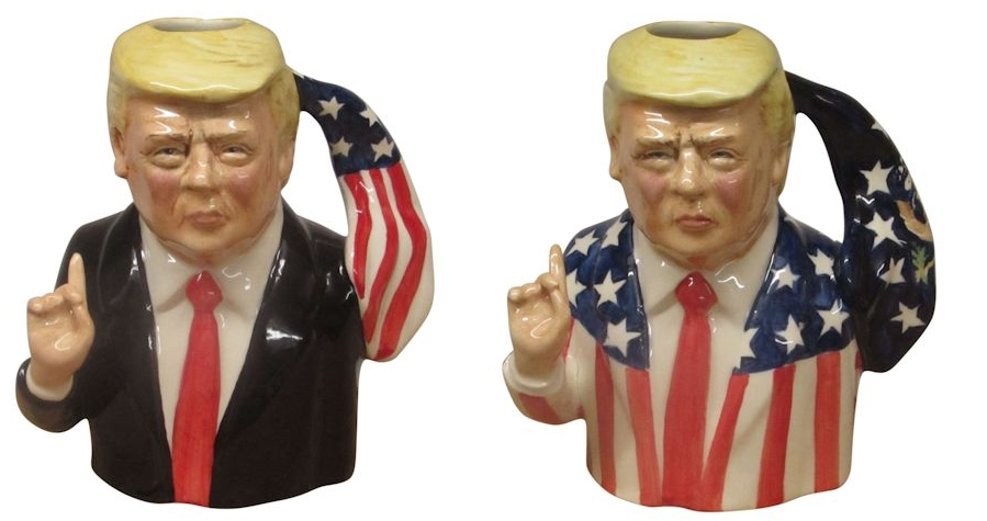 donald trump toby jugs bairstow pottery