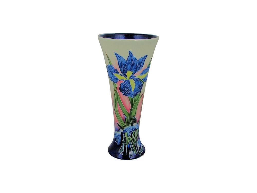 Old Tupton Ware Flared Vase Iris Design