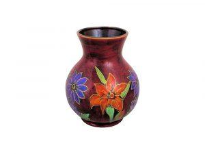 Large Trojan Vase Devotion Design by Anita Harris Art Pottery