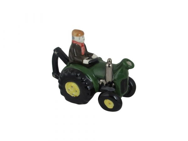 One Cup Farm Tractor Collectable Novelty Teapot Carters of Suffolk