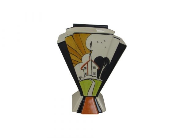 Marie Graves Ceramic Artist Fan Vase Sunnyside Design