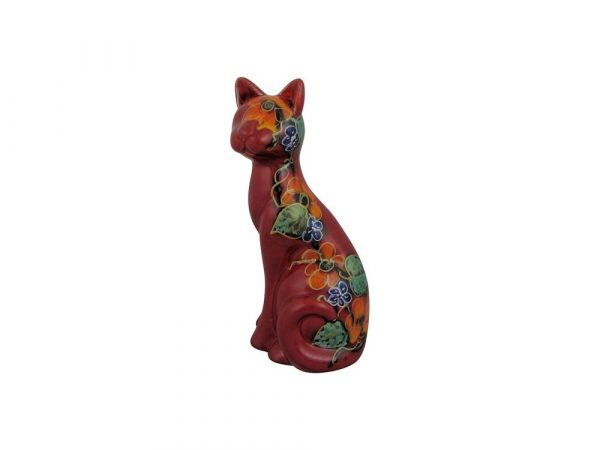 Sitting Cat Figure Garland Design Anita Harris Art Pottery