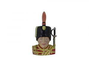 Winston Churchill Hussars 1895 Regiment Toby Jug