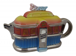 American Diner Shaped Novelty Teapot Ceramic Inspirations