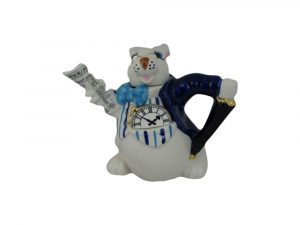Alice in Wonderland White Rabbit Novelty Teapot